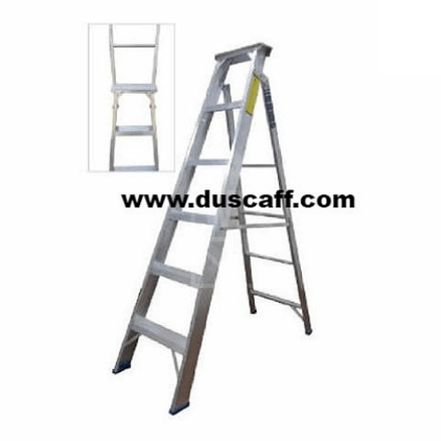 Dual Purpose Aluminium Ladder | 1.5 meters | 5 Steps