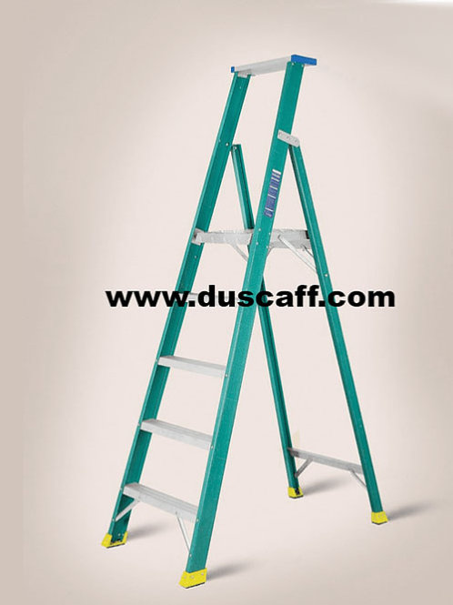 Fiber Glass Platform Ladder |  2.9 meters | 6 + 1 Steps