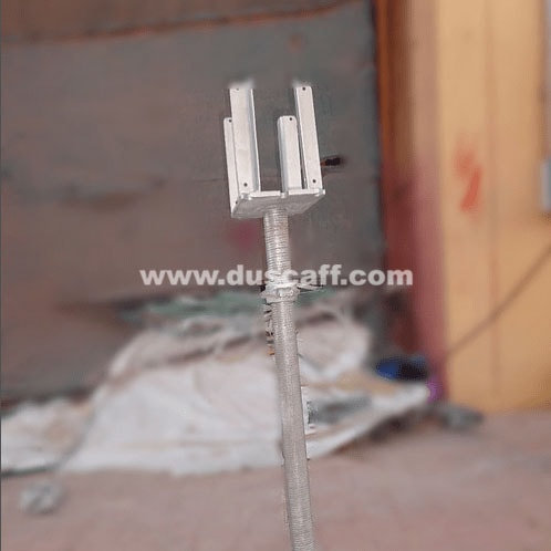 Adjustable Fork Head 4 Way, 760 mm, Galvanized