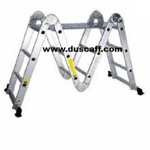 Multi Task Aluminium Ladder, 3.7 meters, 4 x 3 Steps