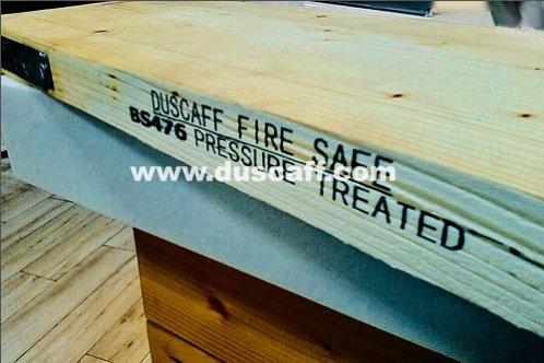 Panneau d'Échafaudage BS2482:2009 Duscaff Fire Safe | BS476 | 3,90m