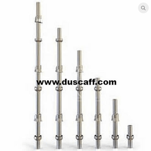 Barre Verticale Cuplock | 4 mm d'épaisseur | 3.0 mètres | Galvanisée