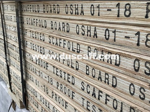 LVL Scaffold Board | OSHA Proof Tested | 1.5m | Scaffold Plank | China