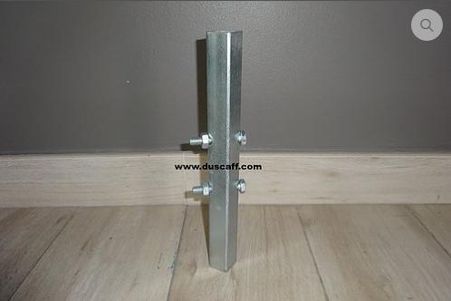 Raccord Tube Cuplock Carré 300 mm, Peint