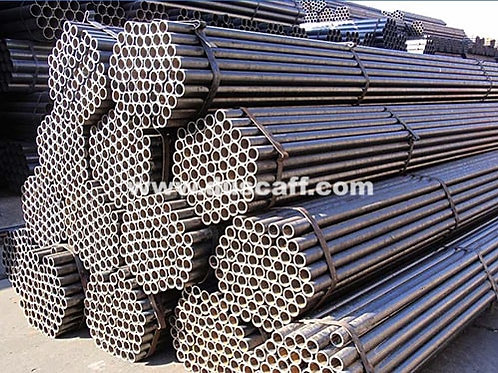 M.S. Black Scaffolding Tube | 4mm thick | 4 meters long | EN39