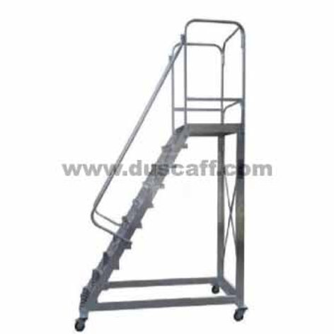 Échelle Escalier Roulante en Aluminium