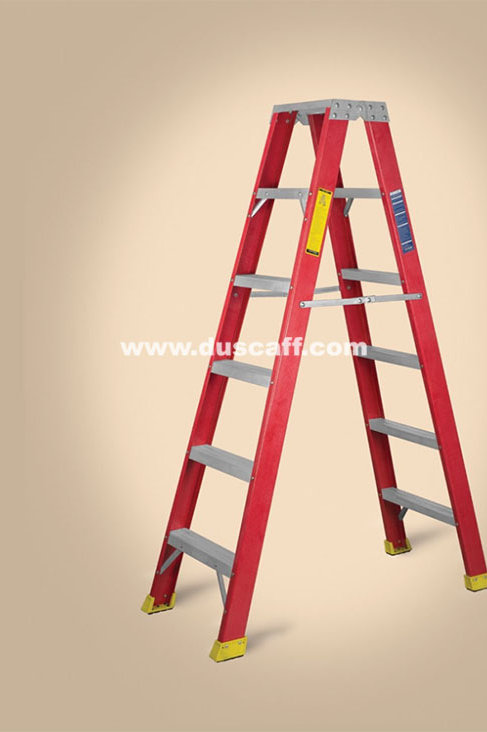 Fiber Glass ( FRP ) Double Sided Ladder | 4.8 meters | 16 Steps