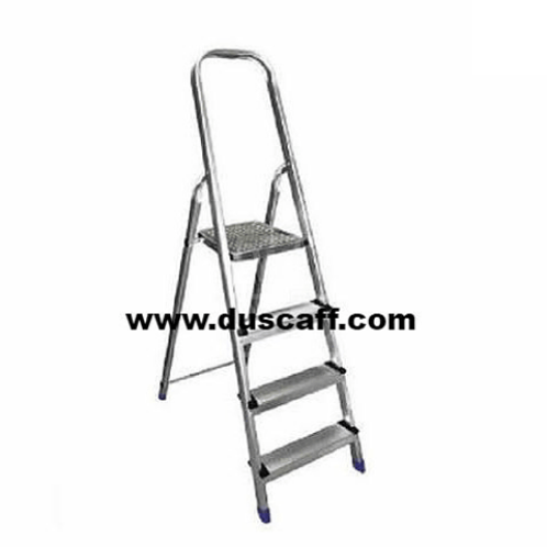 Platform Aluminium Ladder | 1.6 meters |  4 + 1 Steps
