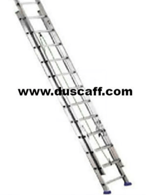 Double Section Straight Aluminium Ladder | 11.4 meters | 19 + 19 Steps