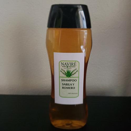 Shampoo de Sábila y Romero, 450 ml
