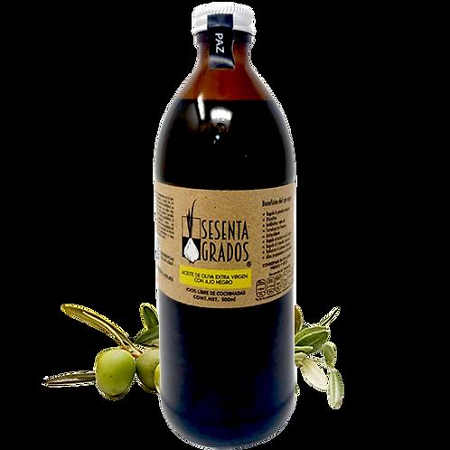 Aceite de Oliva extra-virgen con Ajo Negro, 500 ml