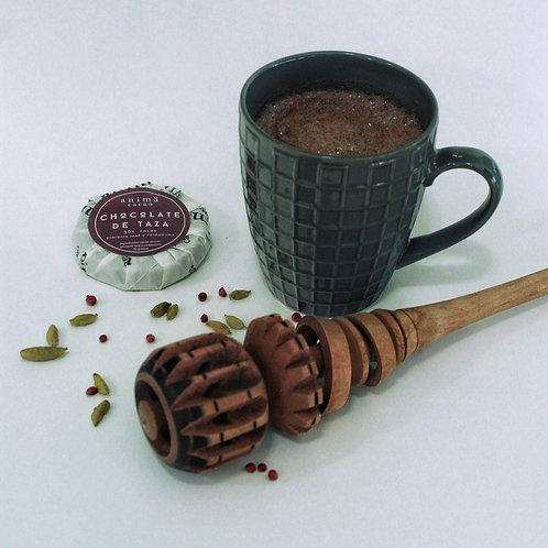 Chocolate de taza 50% cacao - pimienta cardamomo, 70 gr