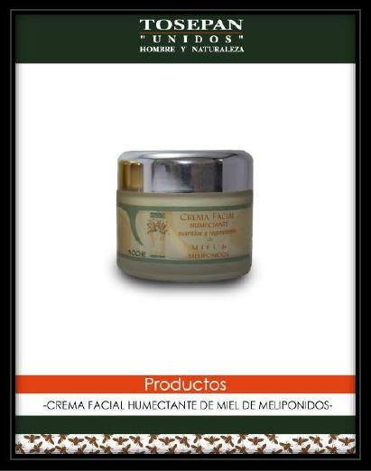 Crema facial de noche de miel melipona, de noche