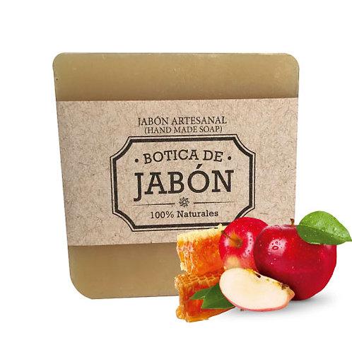 Jabón de Manzana y Miel, 100 gr
