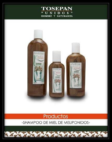 Shampoo de miel melipona, 400 ml