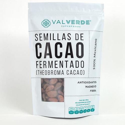 Semillas de cacao con cáscara, 454 gr
