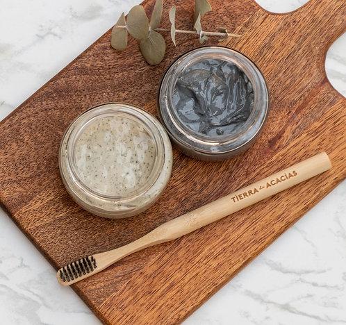 Pasta dental líquida de carbón activado, 100 gr