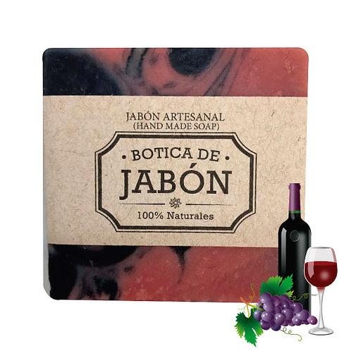 Jabón de Vino Tinto, 100 gr