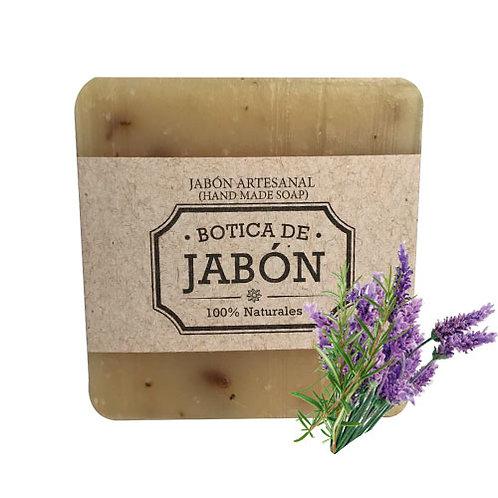 Jabón de Lavanda y Romero, 100 gr