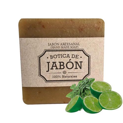 Jabón de Limón y Moringa, 100 gr