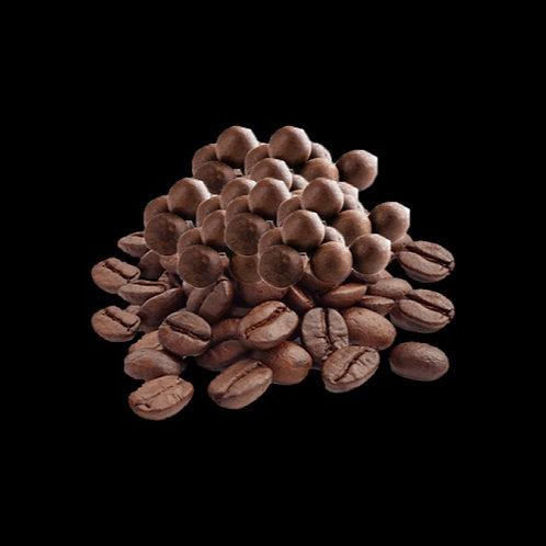 Granos de café tostado recubiertos de chocolate, 120 gr