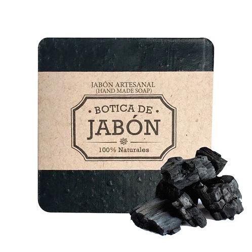 Jabón de Carbón Activado y Bergamota, 100 gr