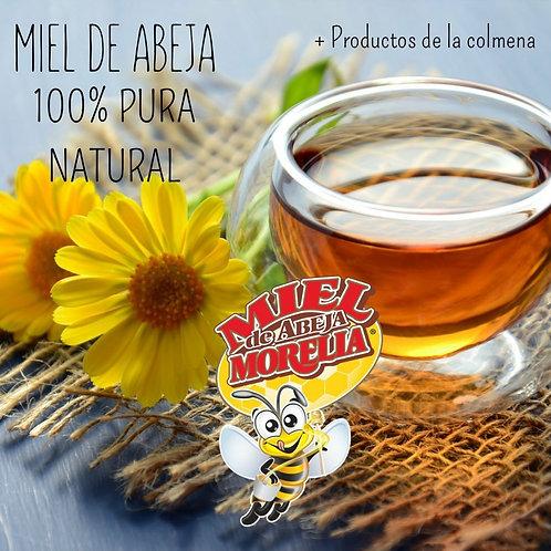 Miel orgánica multifloral, 520 gr