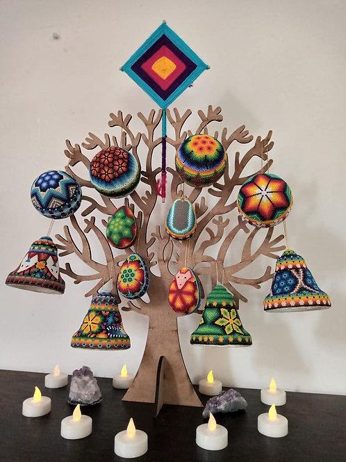 Set Esferas Arte Huichol
