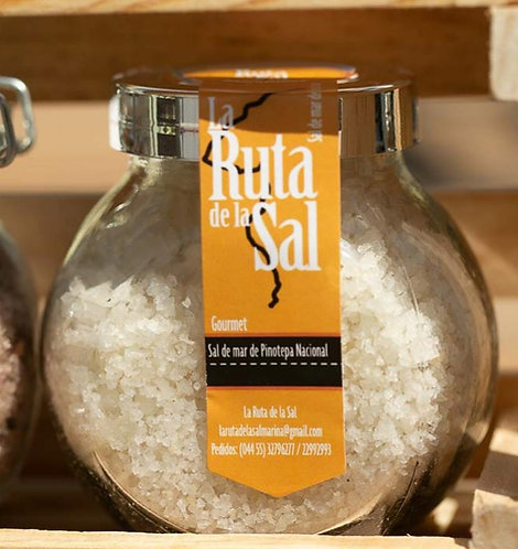 Sal de mar orgánica natural, 110 gr