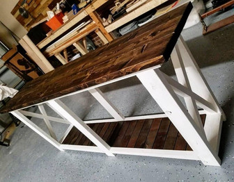 Farmhouse Hall table