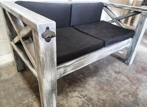 Farmhouse Outdoor Sofa