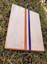 Clemson Epoxy Cuttingboard