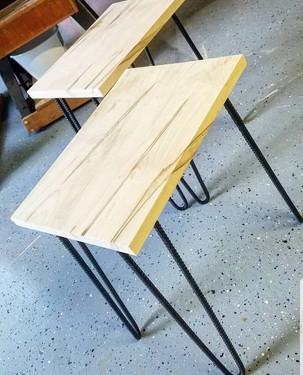 Modern Maple Endtables