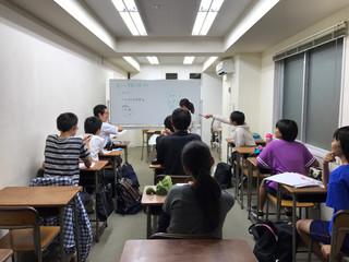 中3社会の授業の様子