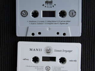 out now: MANII - Sinnets Irrganger tape version.