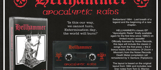 :IN STOCK: Celctic Frost and Immortal box sets, Hellhammer tapes