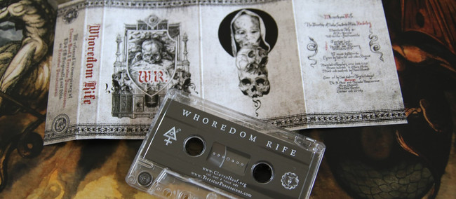 out now: Whoredom Rife tapes