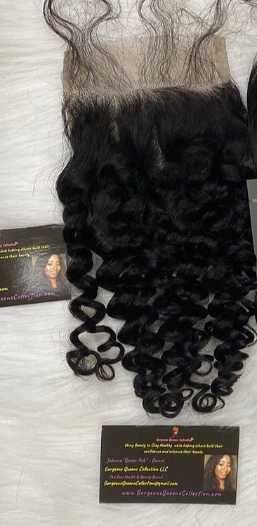 Beauty Queen Water Wave Closure