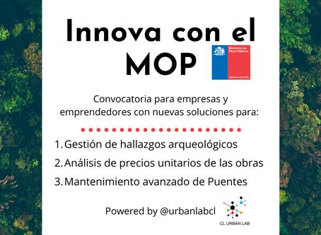 Exitoso proceso de captación de propuestas innovadoras en el MOP