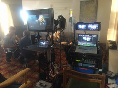 TV commercial rig with Ipad