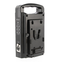 Dual V-lock charger
