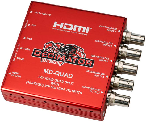 HD Quad Split