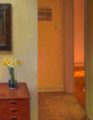 Interior with Daffodils