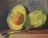Avocado with Spoon