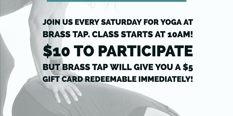 Yoga at the Tap!