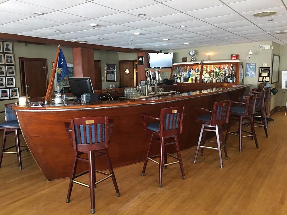Lower Deck bar Buffalo Yacht club
