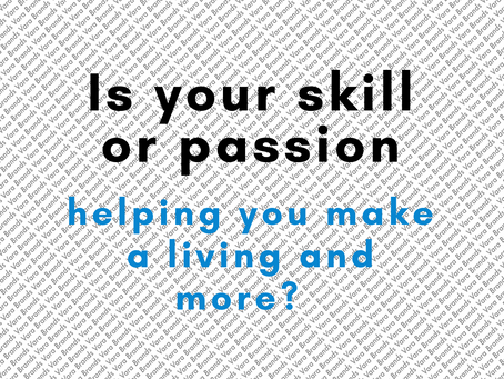 There is a lot of talk about skills, passion, experiences but do they truly help you sustain