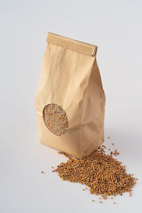 Premium Organic Mustard Seeds - Yellow