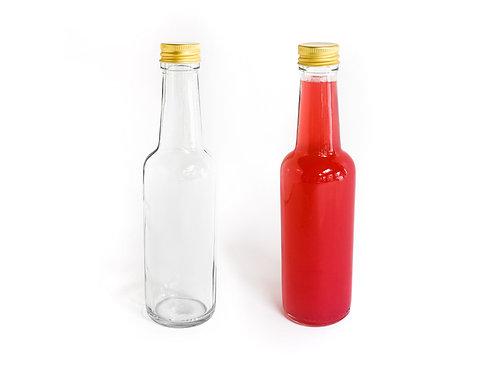 12x 250ml - Premium Glass Bottles