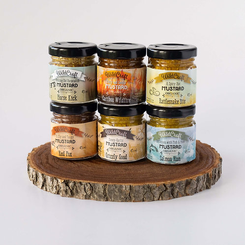 Mustardellos Collection Double Deal - 6x Mixed Mustards